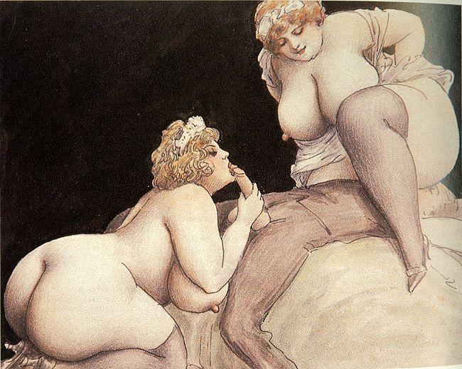 Секс в рисунках и живописи 81367 фотография