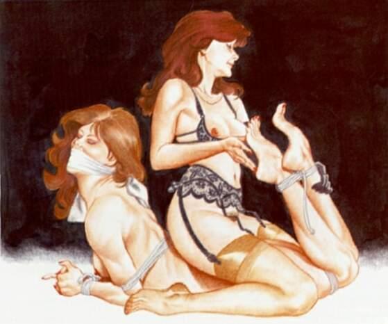 tickling lesbian feet