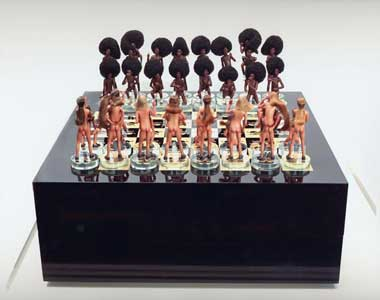 Sexy checkers board game