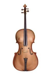 cello nude