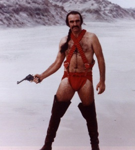 sean connery as zardoz