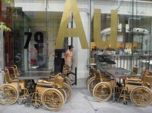 gold wheelchairs