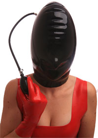 Inflatable-latex-hood-s