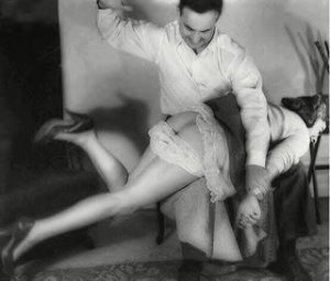 1950s spanking