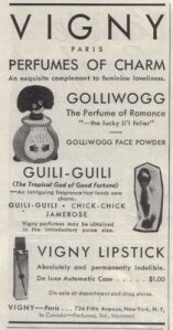 golliwog perfume of romance